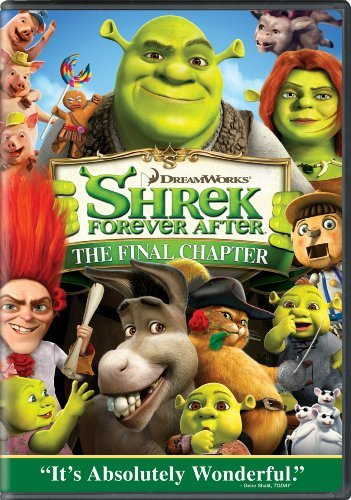 Shrek Forever After Shrek Forever After DVD Pg