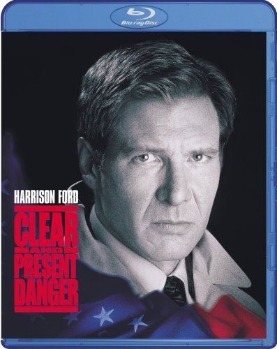 Clear & Present Danger Ford Archer Dafoe Blu Ray Pg13