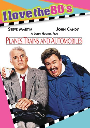 Planes Trains & Automobiles Martin Candy Bacon Mckeen Ws I Love The 80's Nr