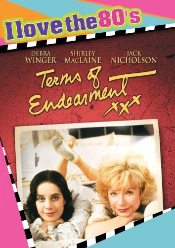 Terms Of Endearment De Vito Lithgrow Maclaine Nich Ws I Love The 80's Nr