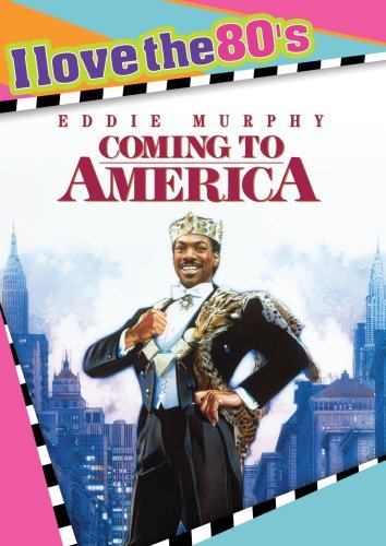 Coming To America Murphy Hall Jones Ws I Love The 80's Ed. Nr