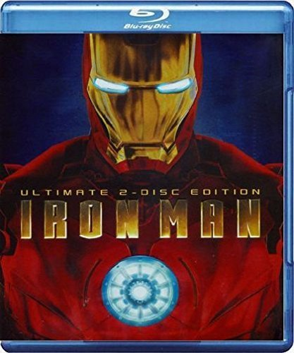 Iron Man (2008) Bridges Downey Howard Ws Blu Ray Ultimate Ed. Pg13 2 DVD