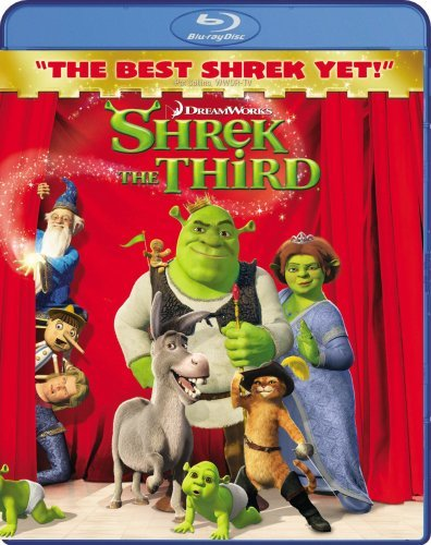 Shrek The Third Shrek The Third Blu Ray Ws Pg