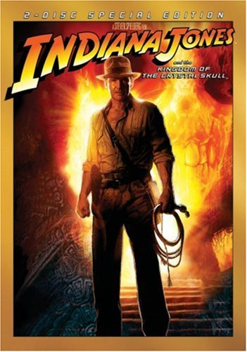 Indiana Jones Kingdom Of The Crystal Skull Ford Allen Blanchett Labeouf Pg13 2 DVD