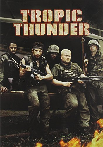 Tropic Thunder Stiller Black Downey Nolte Ws Nr 2 DVD