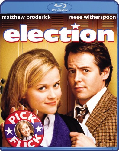 Election Broderick Witherspoon Ws Blu Ray R