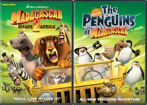 Madagascar Escape 2 Africa Ni Madagascar Escape 2 Africa Ni Ws Side By Side Nr 2 DVD