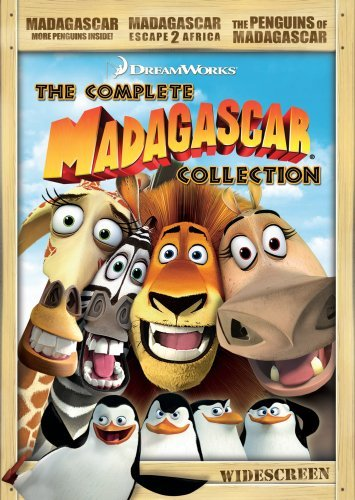 Madagascar The Complete Collec Madagascar The Complete Collec Ws Nr 3 DVD