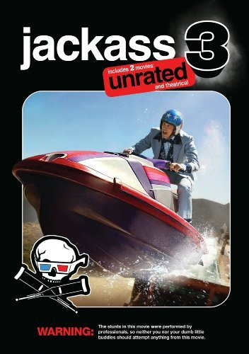 Jackass 3 2d 3d Knoxville Acuna Pontius Ws Ur 2 DVD