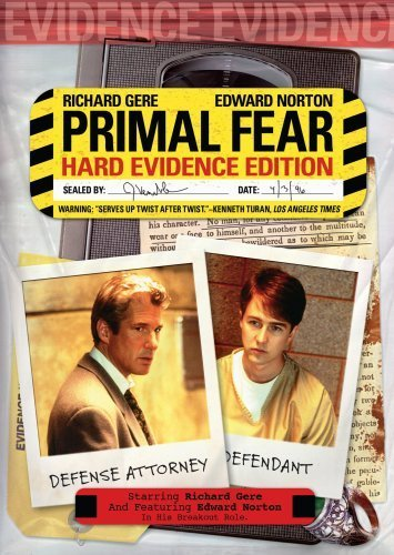 Primal Fear Gere Norton Mahoney DVD R