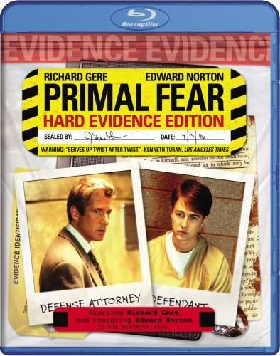 Primal Fear Gere Norton Mahoney Blu Ray Ws R