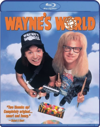 Wayne's World Myers Carvey Carrere Ws Blu Ray Pg13
