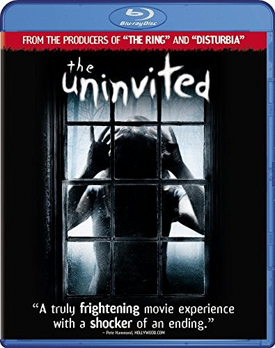 The Uninvited Banks Browning Kebbel Strathai Blu Ray Pg13