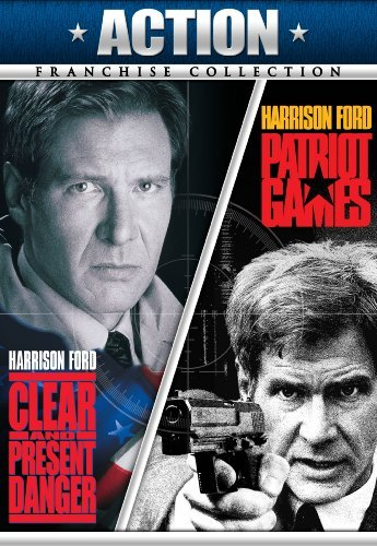 Clear & Present Danger Patriot Ford Harrison Ws R 2 DVD