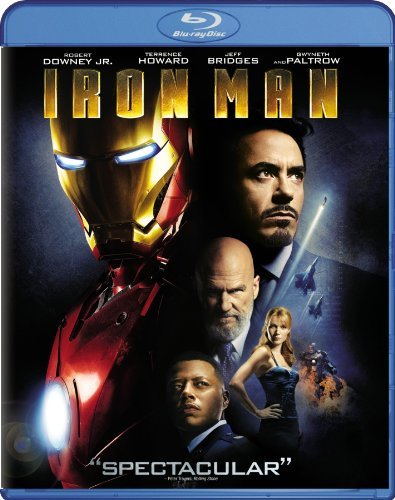 Iron Man Bridges Downey Howard Blu Ray Ws Pg13
