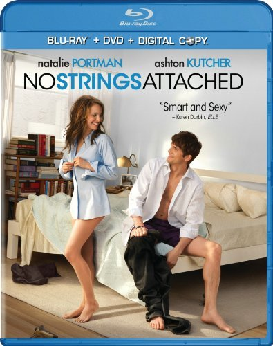 No Strings Attached Kutcher Portman Kline Blu Ray Ws + DVD + Digital Cop R 2 Br