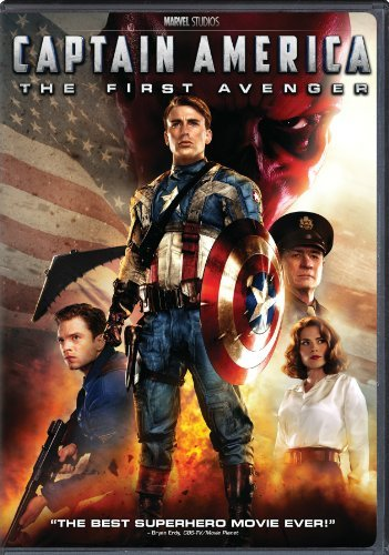 Captain America The First Avenger Evans Weaving Armitage Ws Pg13