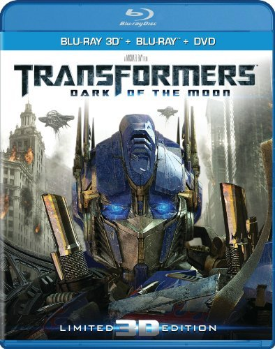 Transformers The Dark Of The Labeouf Huntington Whiteley Du 3d Blu Ray DVD Dc Uv Pg13 Incl. DVD Dc Uv