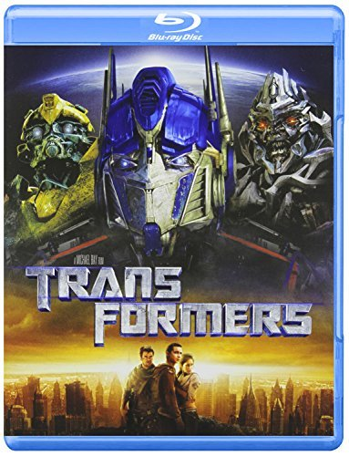 Transformers (2007) Labeouf Fox Turturro Voight Blu Ray Pg13 Ws