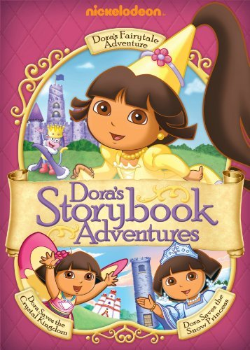 Dora's Storybook Adventures Dora The Explorer Nr 3 DVD