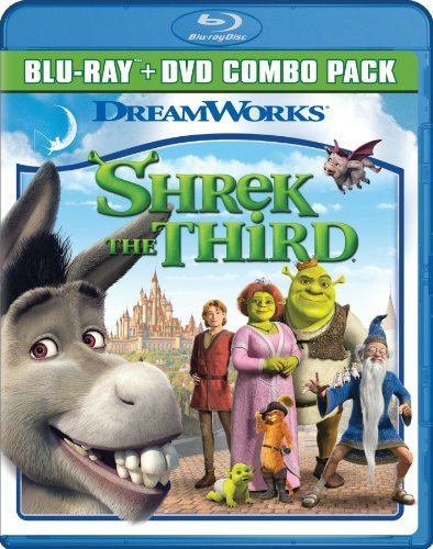 Shrek The Third Shrek The Third Blu Ray Ws Pg Incl. DVD