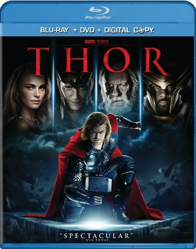 Thor Portman Hopkins Hemsworth Blu Ray DVD Dc Pg13