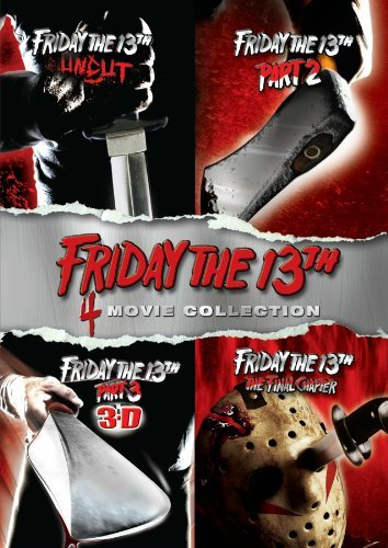 Friday The 13th 4pak Friday The 13th 4pak Ws Deluxe Ed. Nr 4 DVD