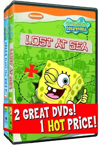 Spongebob Squarepants Lost At Sea Tales From The Dee Back To Back Nr 2 DVD