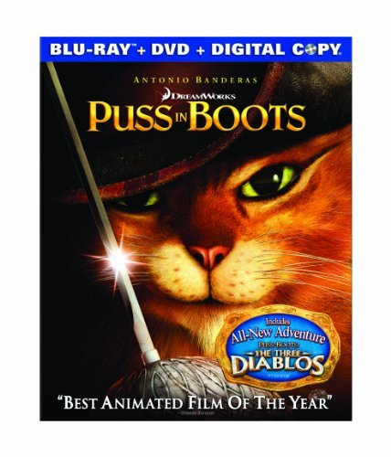 Puss In Boots (2011) Puss In Boots (2011) Blu Ray Ws Pg Incl. DVD Dc