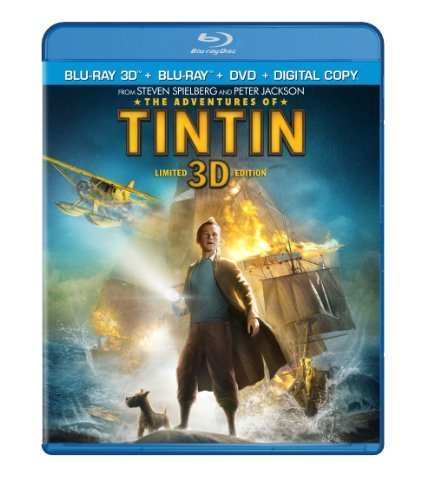 Adventures Of Tintin Adventures Of Tintin 2d 3d Pg 2 Br Incl. DVD Dc Uv