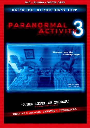 Paranormal Activity 3 Featherston Grayden Bittner R Incl. DVD Dc Uv