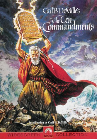 Ten Commandments (1956) Heston Brynner Baxter Robinson Clr Cc 5.1 Ws Keeper G 2 DVD
