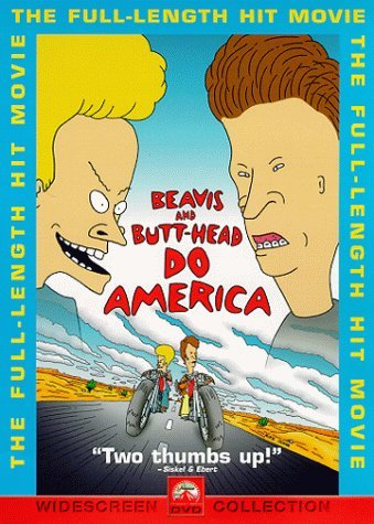 Beavis & Butt Head Do America Beavis & Butt Head Do America Clr Cc 5.1 Ws Keeper Pg13 Sensormatic