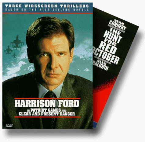 Jack Ryan Thriller Set Ford Baldwin Clr Cc R 3 DVD