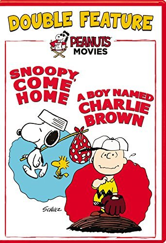Peanuts Snoopy Come Home Boy Named Charlie Brown DVD G