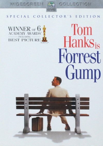 Forrest Gump Hanks Field Wright Williamson Clr Cc 5.1 Aws Pg13 Coll. Ed.