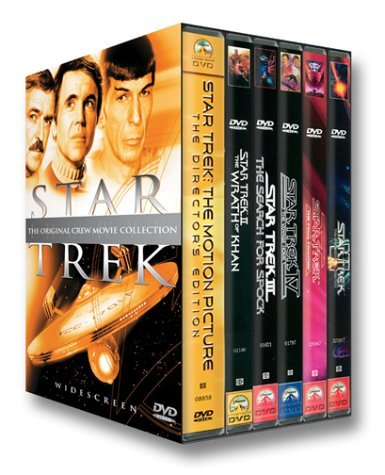 Original Crew Movie Collection Star Trek Clr Cc Prbk 09 24 01 Nr 6 DVD