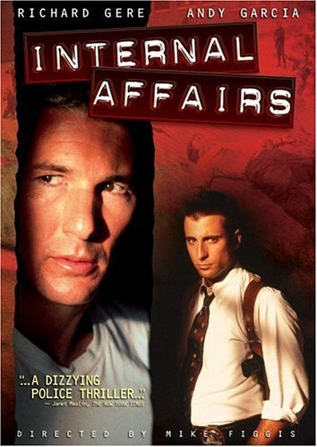 Internal Affairs Gere Garcia DVD R