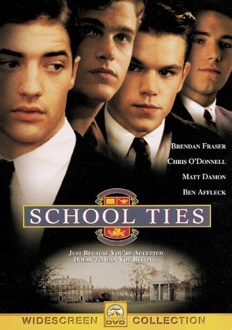 School Ties Fraser Damon O'donnell Affleck DVD Pg13
