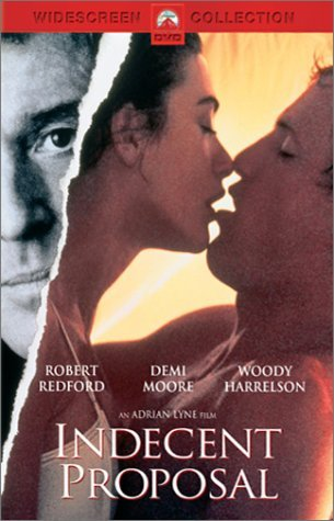 Indecent Proposal Redford Moore Harrelson Ws R