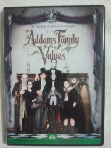 Addams Family Values Huston Julia Lloyd Cusack Kane Clr Cc 5.1 Ws Pg13 Checkpoint