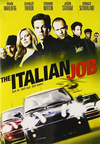 Italian Job (2003) Wahlberg Theron Norton Green Clr Ws Pg13