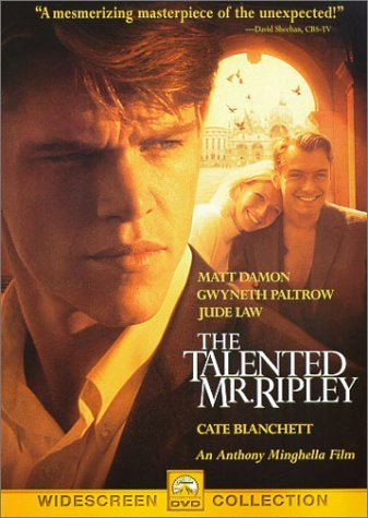 Talented Mr. Ripley Damon Paltrow Law Blanchett DVD R