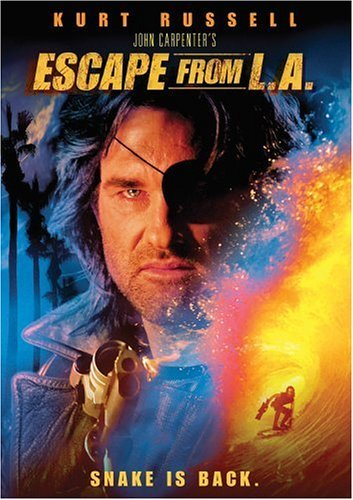 Escape From L.A. Russell Keach Buscemi DVD R