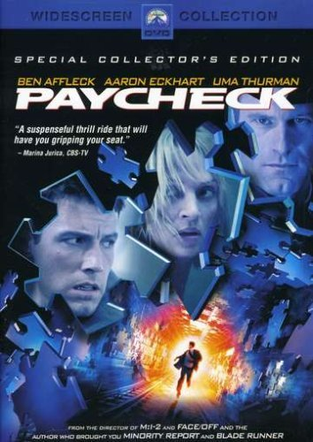 Paycheck Affleck Eckhart Thurman Ws Pg13