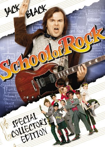 School Of Rock Black Cusack Clr Ws Pg13