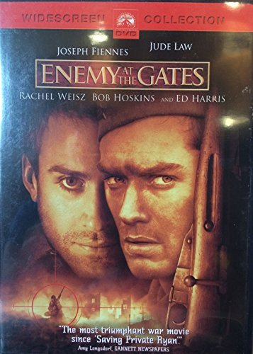 Enemy At The Gates Fiennes Law Weisz Hoskins Harr