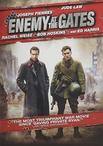 Enemy At The Gates Fiennes Law Weisz Hoskins DVD R