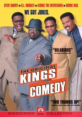 Original Kings Of Comedy Harvey Hughley Cedric The Entertainer Mac Clr Cc 5.1 Ws R