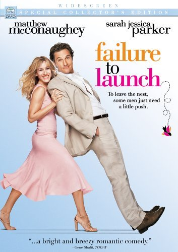 Failure To Launch Mcconaughey Parker Bates Ws Pg13 Special Col